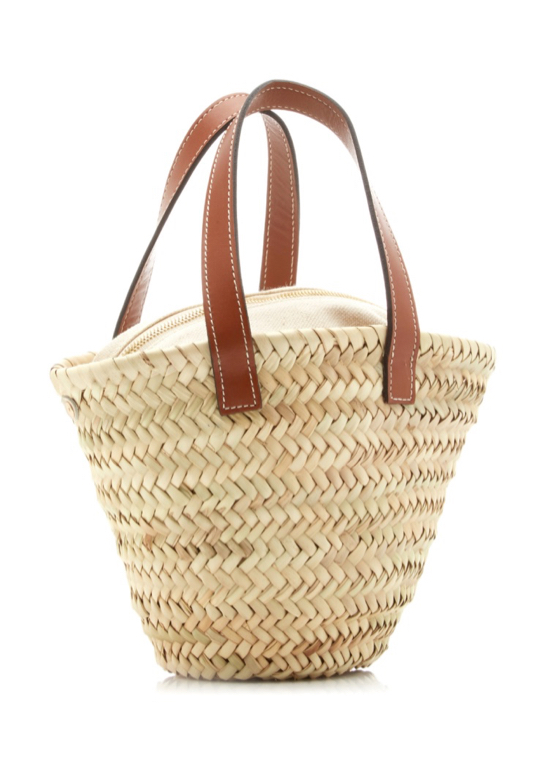 Straw Mini Tote Bag