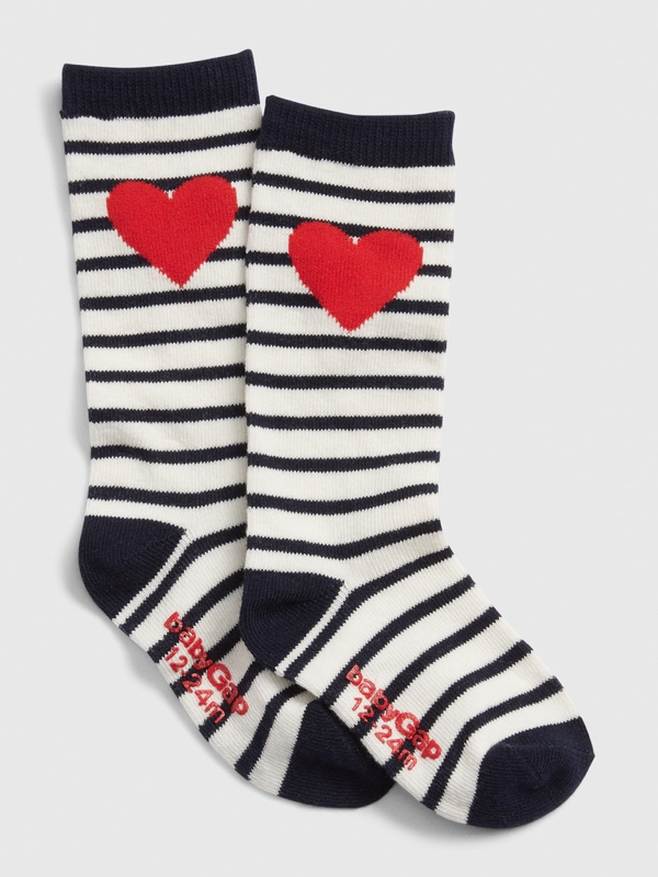 Toddler Stripe Knee High Socks