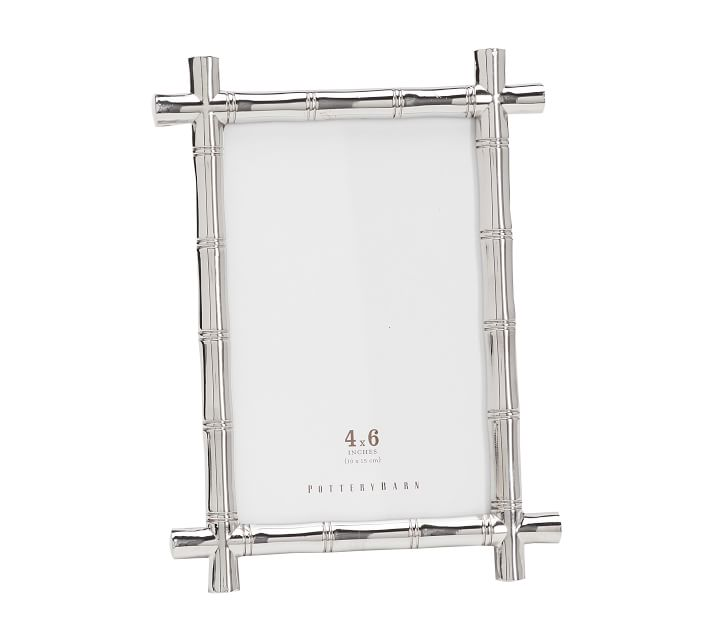 Silver Bamboo Picture Frame