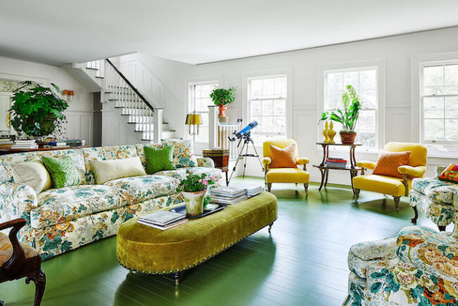 Kate Rheinstein Brodsky's Colorful East Hampton Home