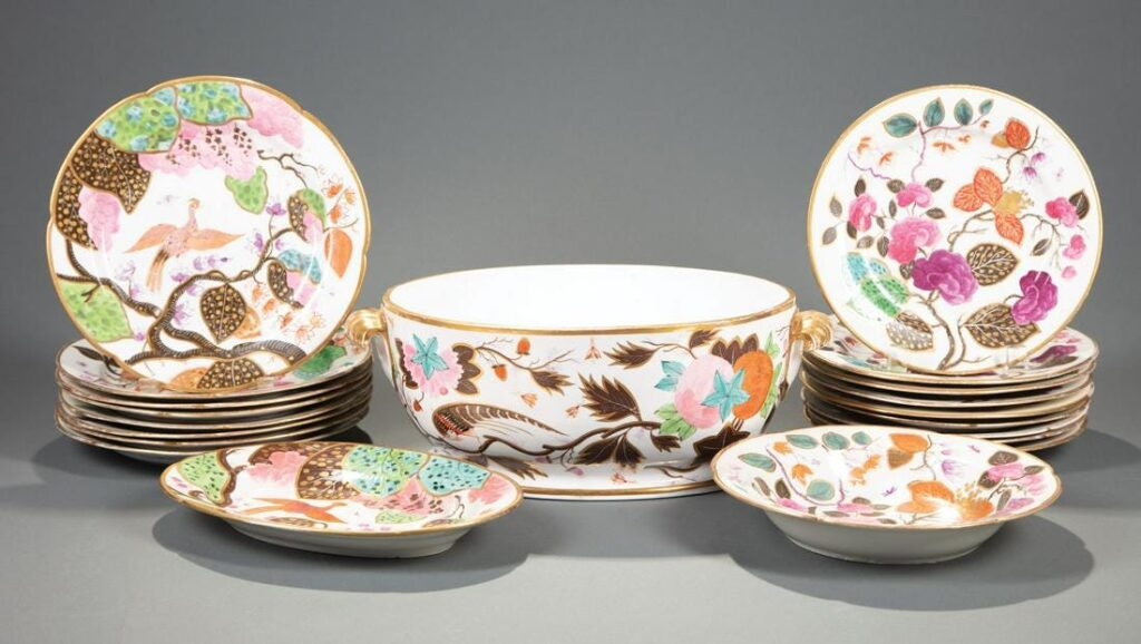 English Porcelain Dinner Service