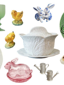 Over 100 Vintage Finds for Your Easter Table