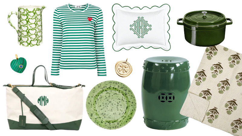 Green Finds Inspired by St. Paddy's Day