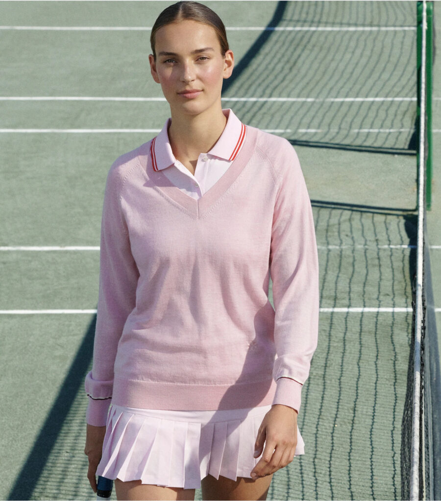 Pink Tennis Outfit Tory Sport