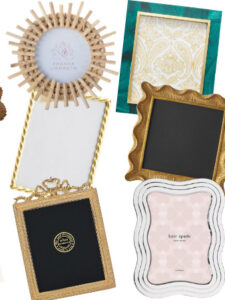 Gorgeous Picture Frames to Display Family Photos