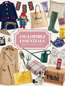 Anglophile Essentials Inspired By London