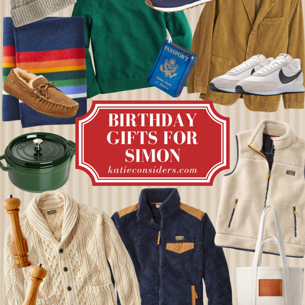 Simon's Birthday Presents (Great Gifts for Guys!)